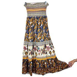 Twenty One Mixed print Maxi Dress S